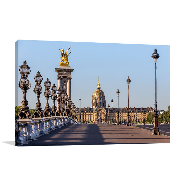 Bridge in Paris Artwork