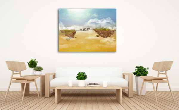 Bridge Island Canvas Prints