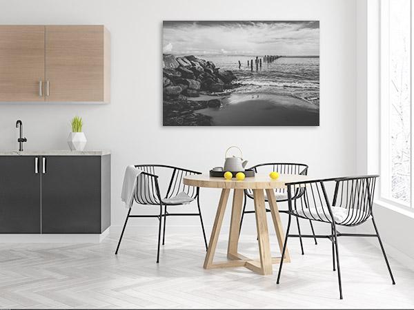 Bridport Photo Art Print Of Beautiful Beach Artwork