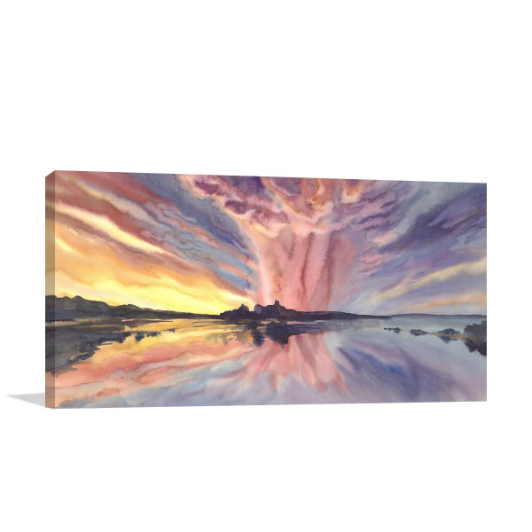 Bright Sunset Artwork