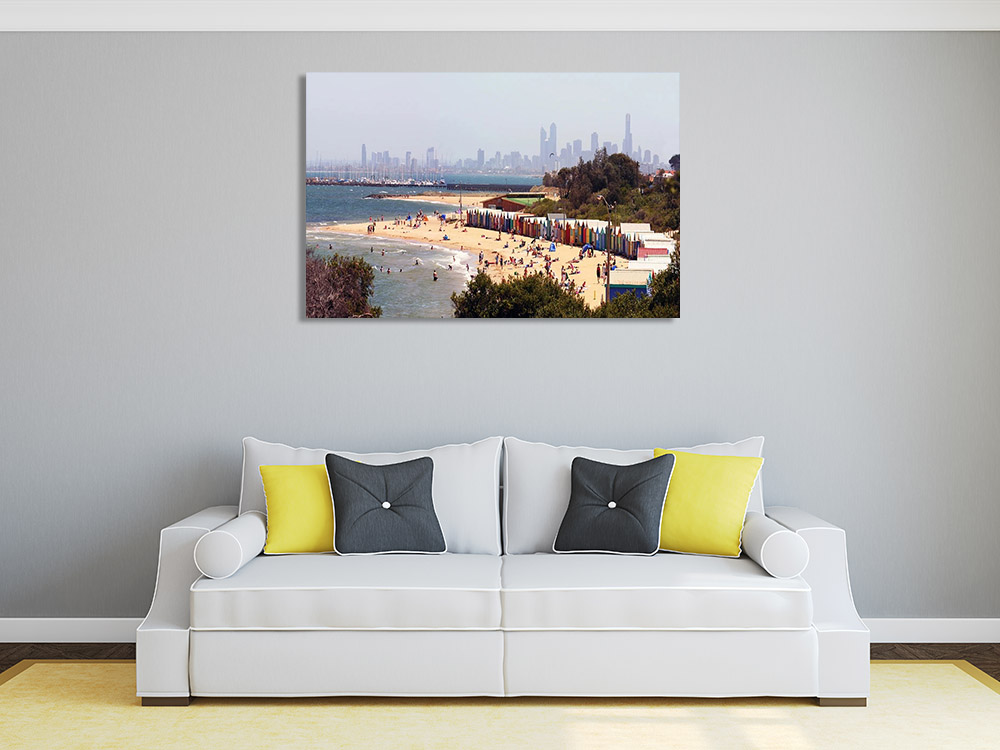 Melbourne Brighton Beach Photography Print