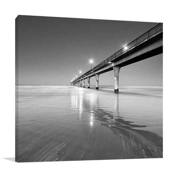 Brighton Beach Bridge Australia Print