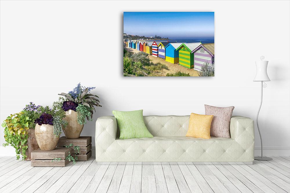 Australia Beach Photography Canvas Print
