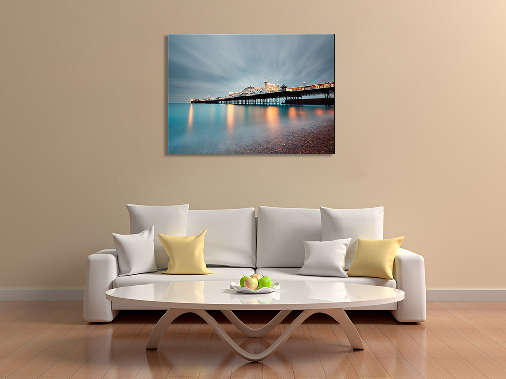 Seascape Photography Print on Canvas