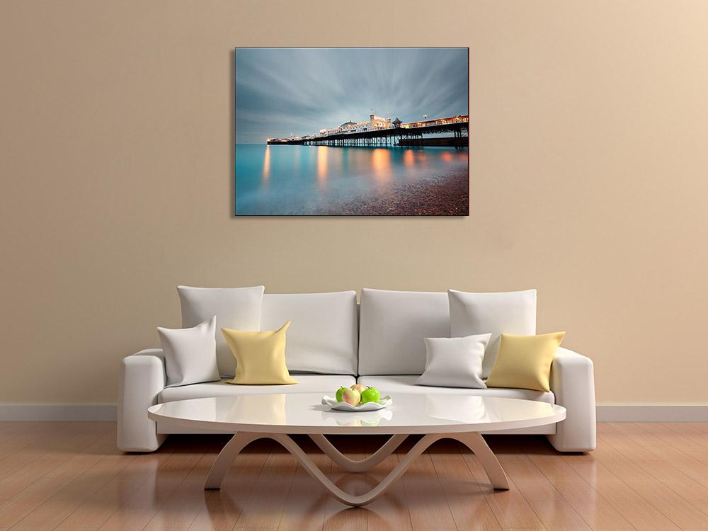 Seascape Photography Print on Canvas