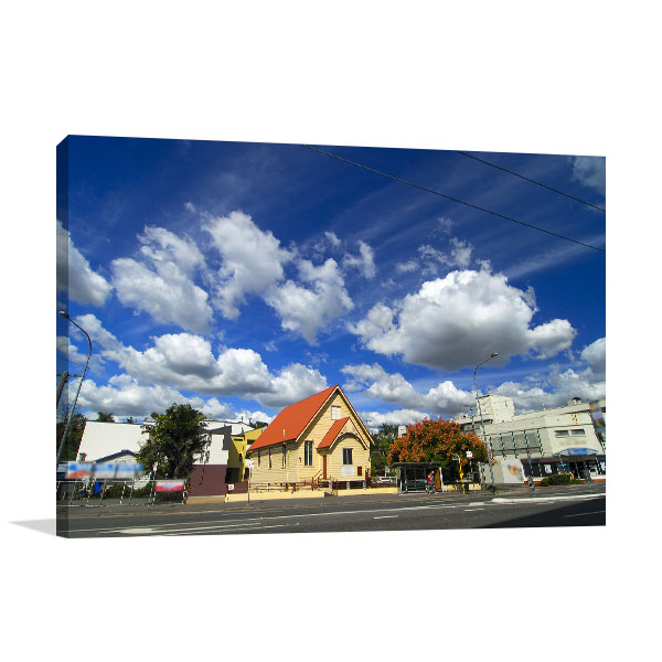 Brisbane Art Print Annerley Road