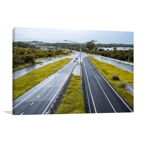 Brisbane Art Print Highway Springfield
