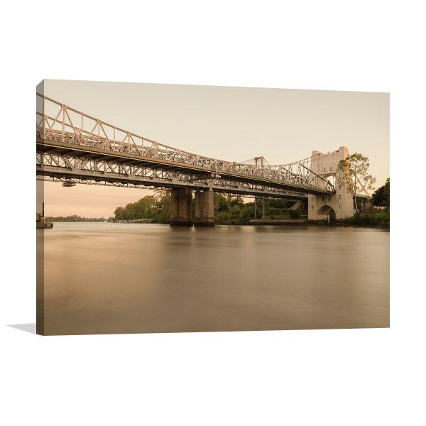 Brisbane Art Print Indooroopilly Bridge