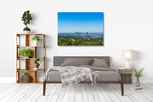 Brisbane Art Print Mt Coot-tha Lookout Print Art Canvas