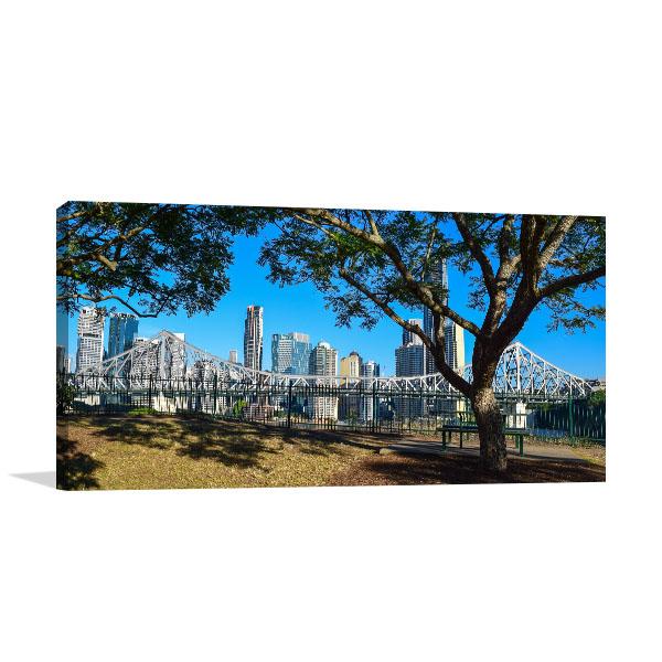 Brisbane Art Print New Farm City