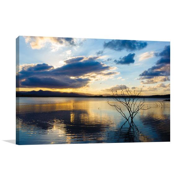 Brisbane Art Print Samsonvale Lake