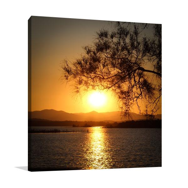 Brisbane Art Print Silhouette North Lakes