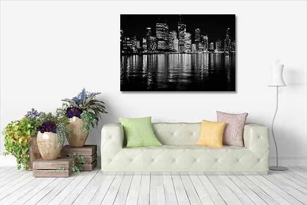 Brisbane Black And White Canvas Prints