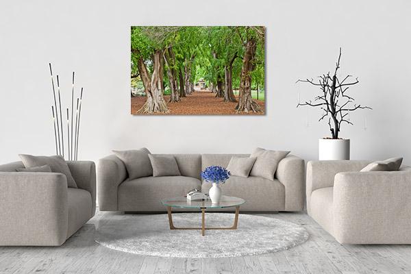 Brisbane City Art Print Botanic Garden Prints Canvas