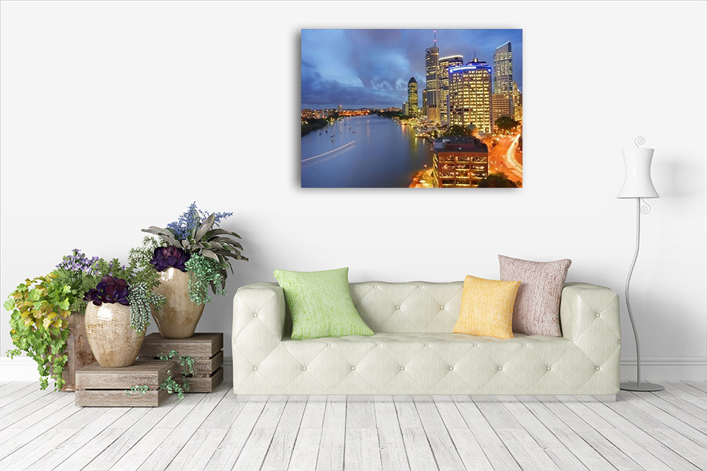Canvas Print Brisbane Queensland Australia