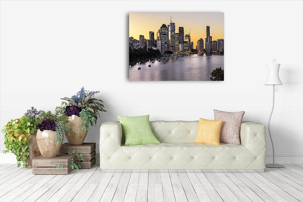 Brisbane Cityscape Photography Art Print