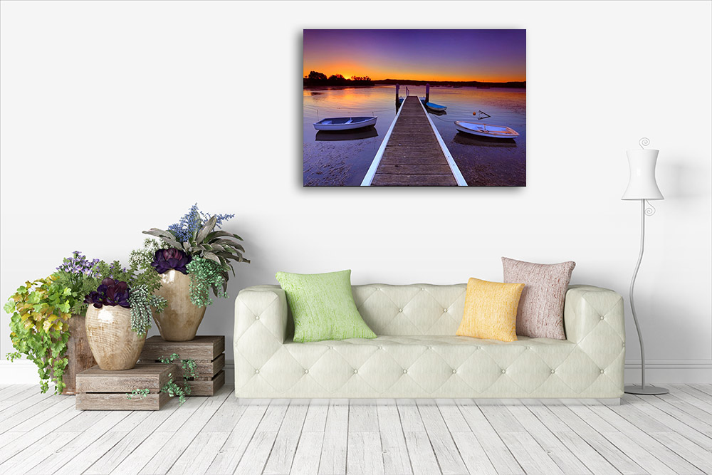 Brisbane Coast Photography Wall Print