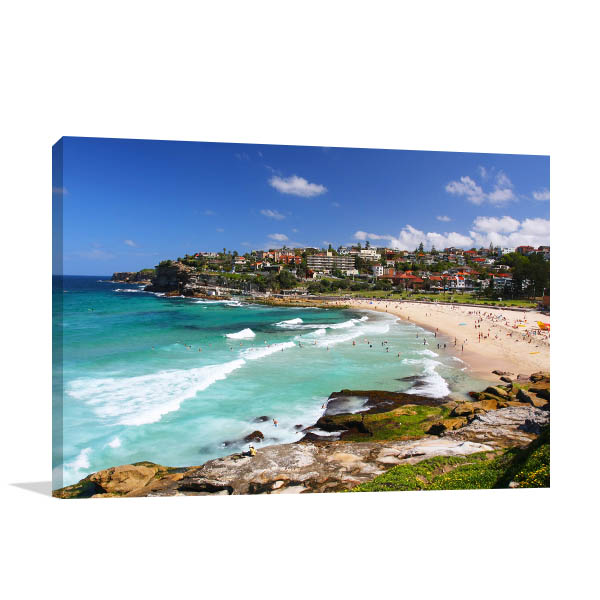 Bronte Beach Sydney Canvas Art Prints