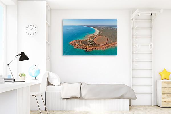 Broome Art Print Beach Aerial View Print Wall Art