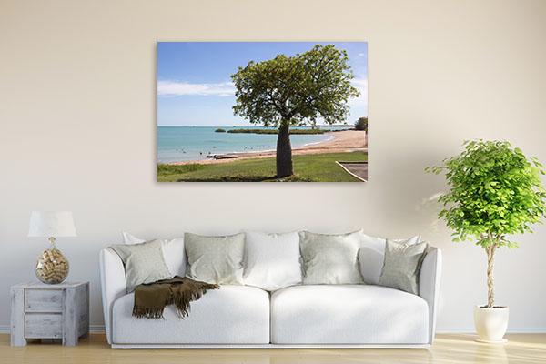 Broome Art Print Boad Tree Summer Artwork