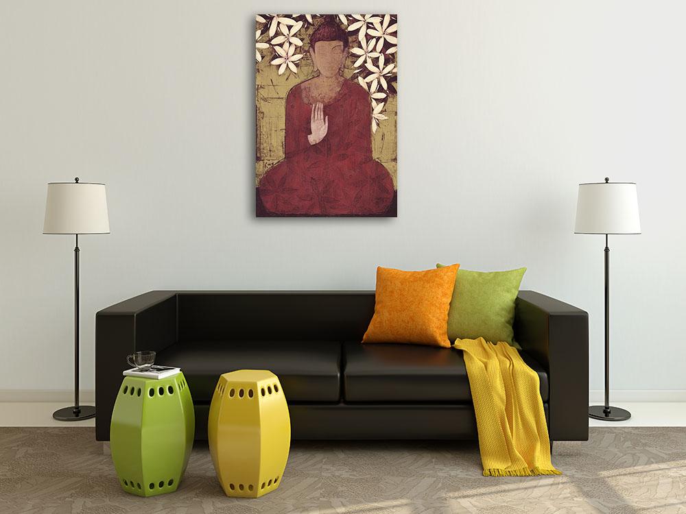 Canvas Art Print Meditation