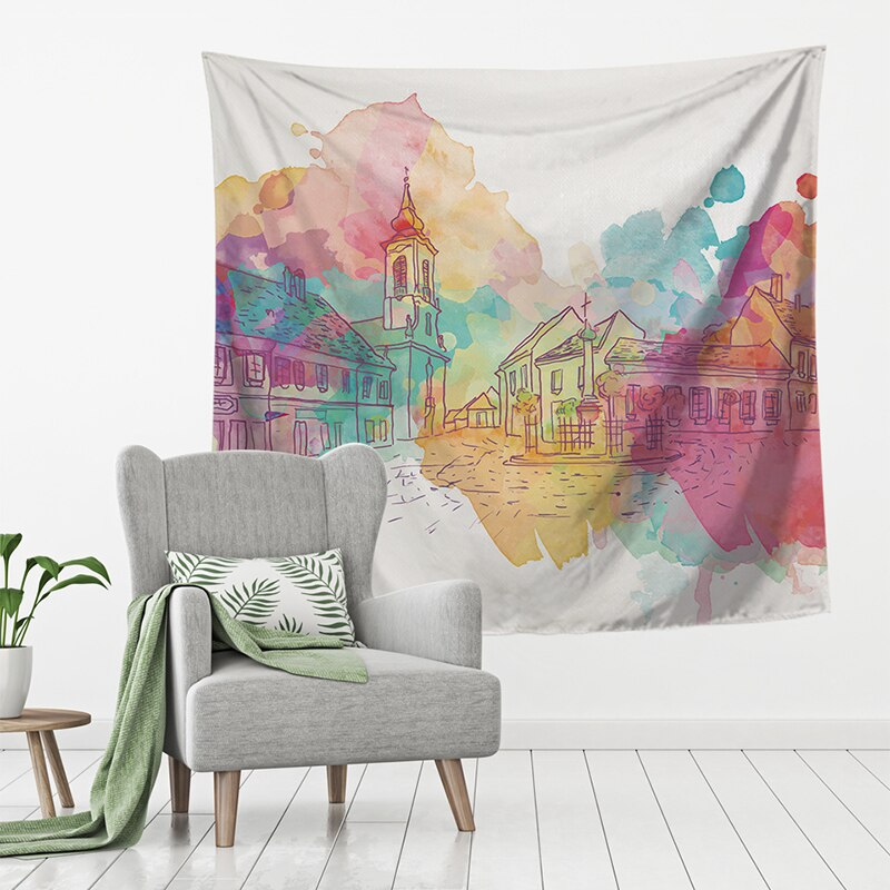 Printed Tapestry Hanging Wall Decor Sydney