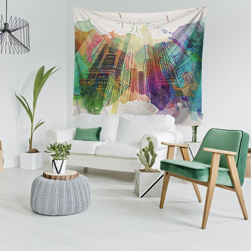 Printed Tapestry Hanging Wall Decor Adelaide