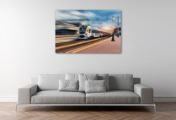 Bullet Train Canvas Art