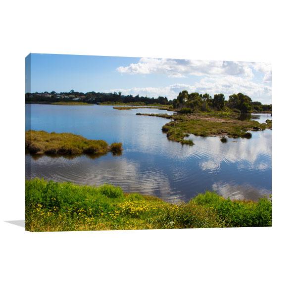 Bunburry Art Print Big Swamp Lake