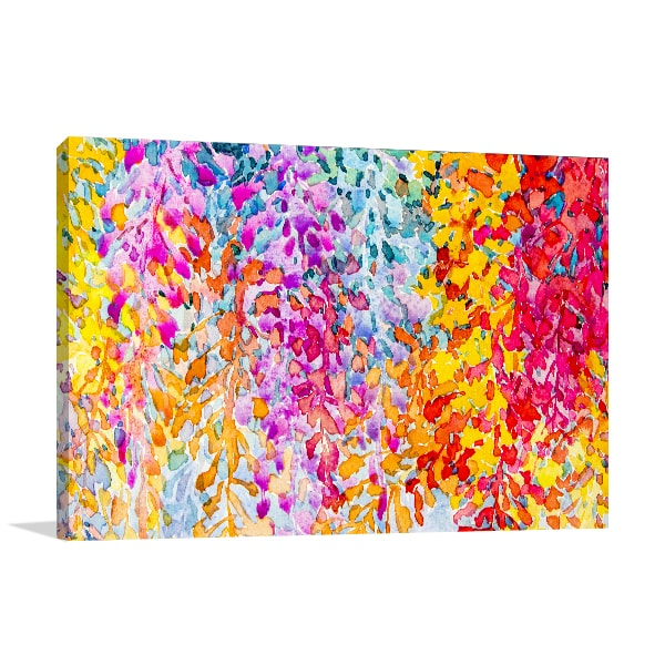 Bunch of Flowers Canvas Art Prints