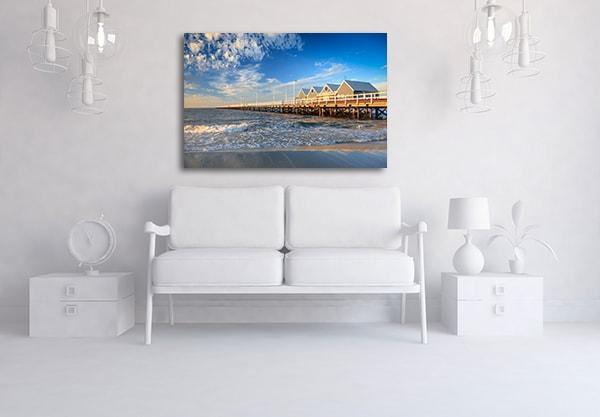 Busselton Jetty Sunrise Perth Prints Canvas