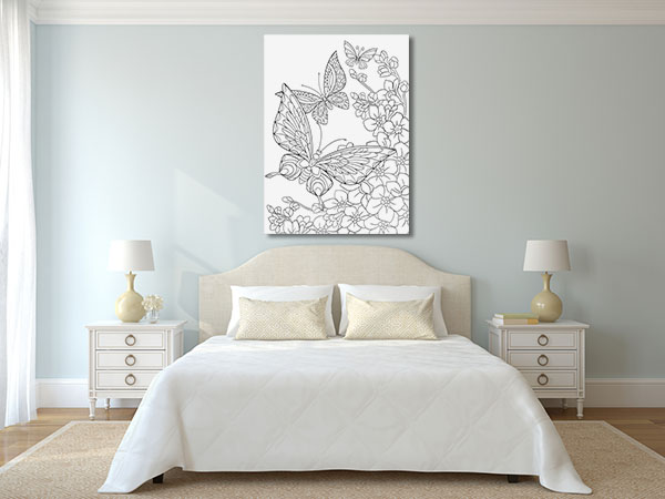 Butterflies Print Artwork