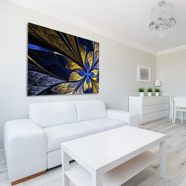 Butterfly Fractal Canvas Art Prints