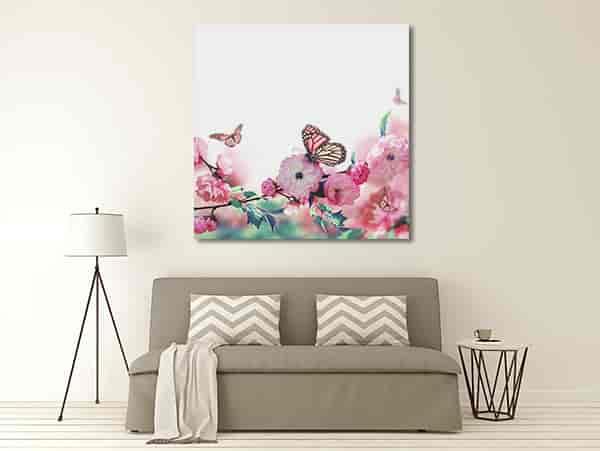 Butterfly Garden Print Artwork