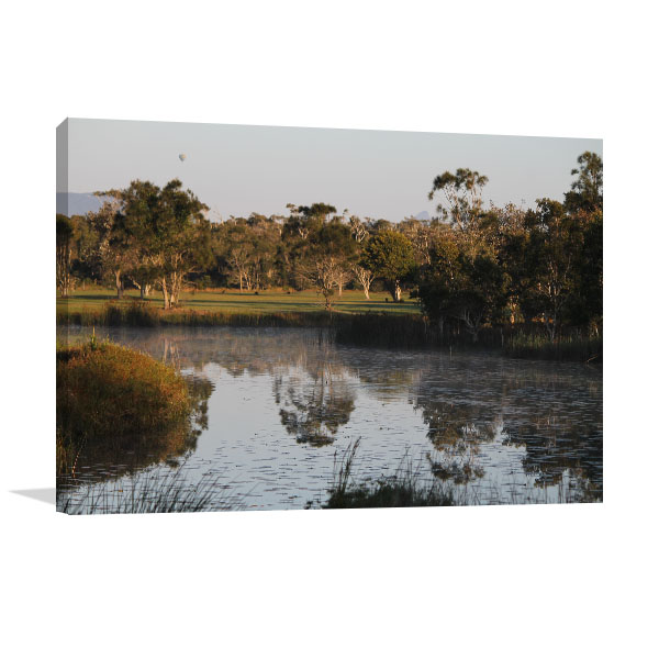 Byron Bay Art Print Isolated Pond