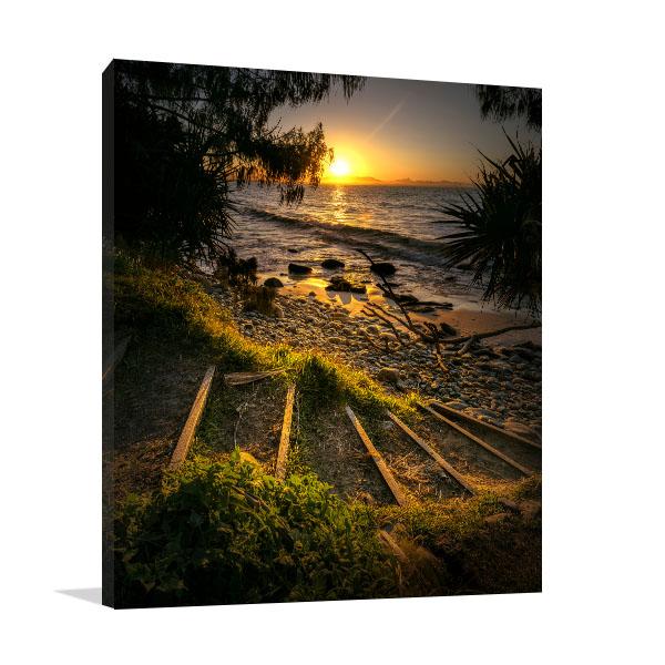 Byron Bay Art Print Way to Paradise