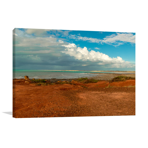 Cable Beach Art Print Overlooking