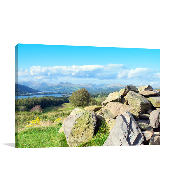 Cairn Art Print Rosthwaite Heights