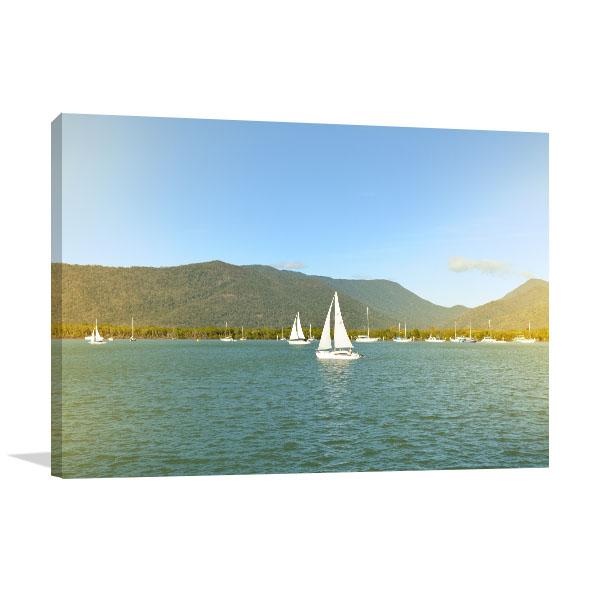 Cairns Art Print Sailing Boats