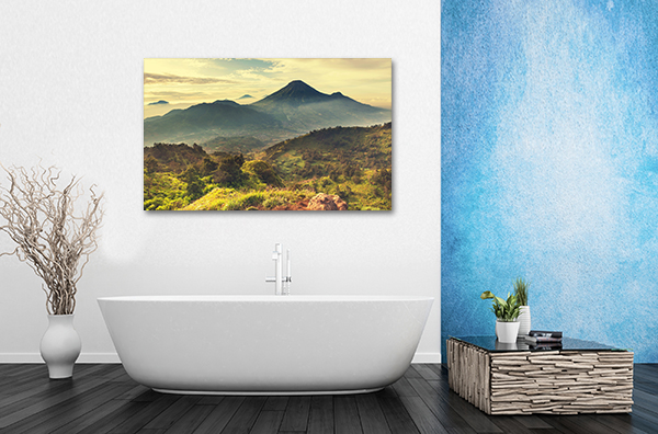Caldera Mountains Canvas Prints