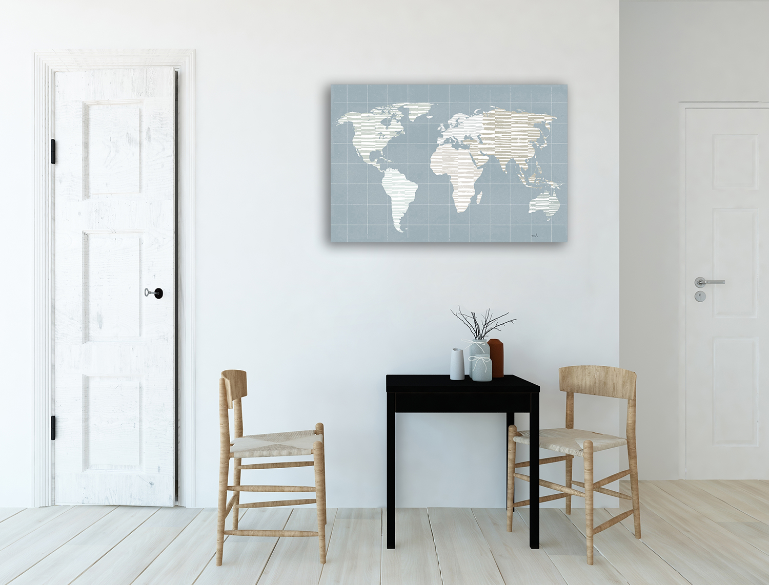 Canvas Wall Print Office Room