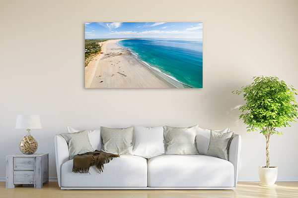 Camels Art Print At Broome Cable Beach Canvas Wall Art