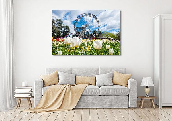 Canberra Floriade Festival Canvas Prints