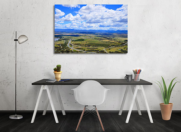 Canberra Sky View Wall Art