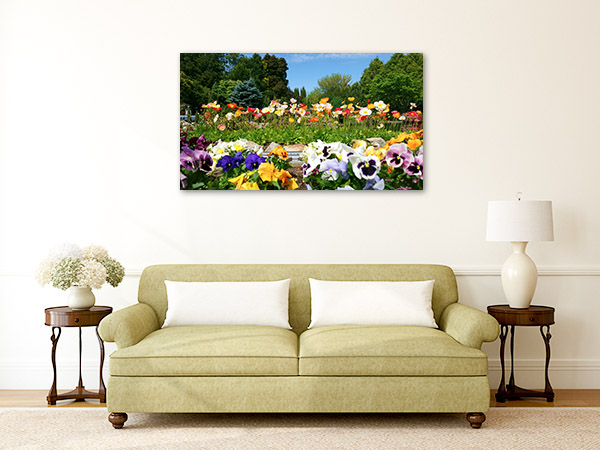 Canberra Wall Print Cockington Green Gardens Photo Canvas