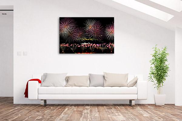 Canberra Wall Print Fireworks Display Photo Art