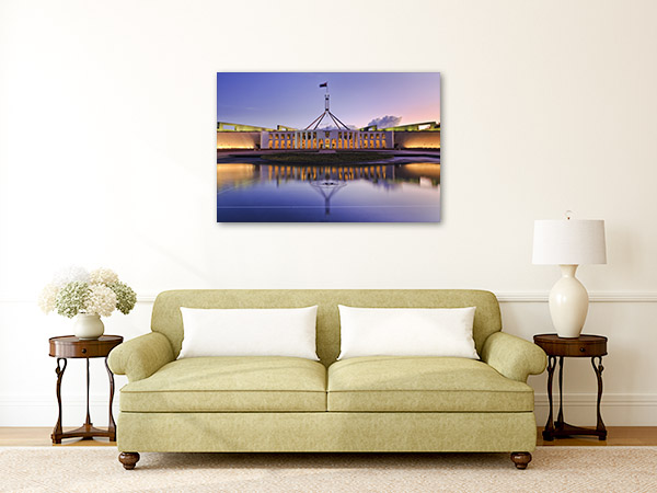Canberra Wall Print Parliament Building Photo Art