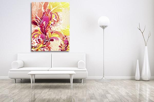 Candy Splash Prints Canvas