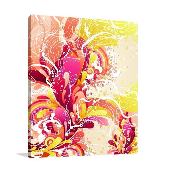 Candy Splash Print Artwork