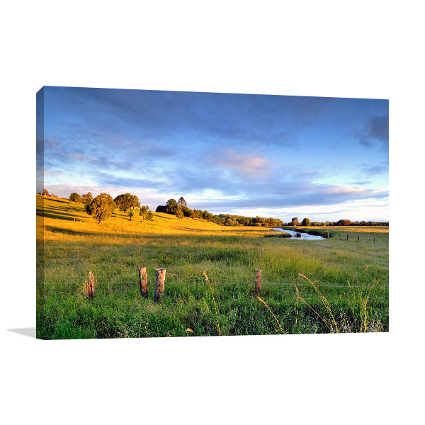 Capalaba Art Print Colorful Landscape